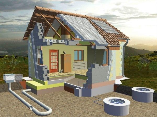 Qu es una casa pasiva ad5 arquitectura y construcci n for Prezzo per costruire una casa