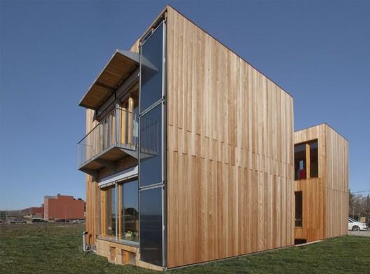 Qu es una casa pasiva ad5 arquitectura y construcci n - Casas ecologicas en espana ...