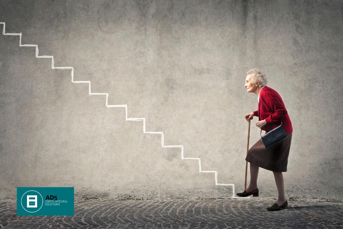 Adaptar una vivienda para personas mayores ii suelos for Escaleras de piscinas para personas mayores