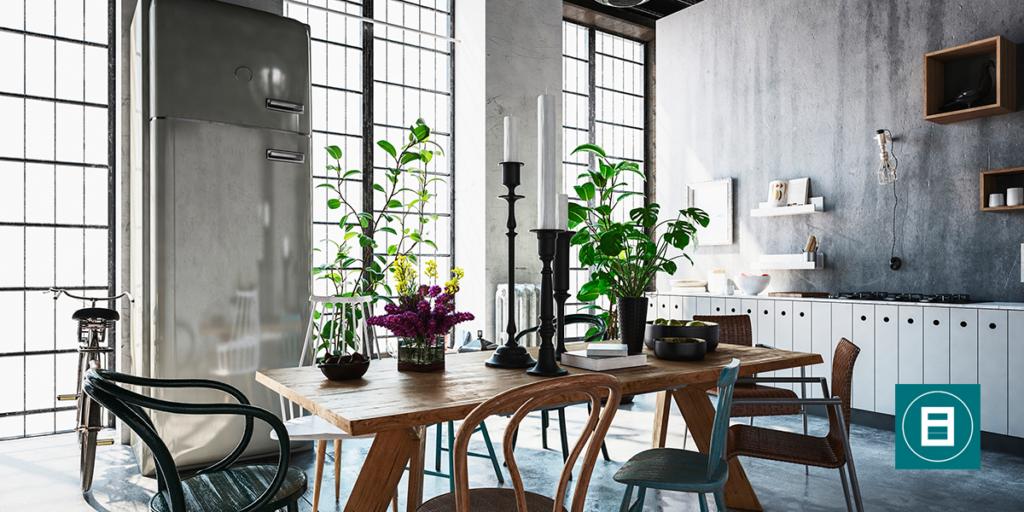 4 claves para conseguir una casa de estilo industrial for Paredes estilo industrial